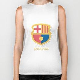 Barcelona Smooth Logo Biker Tank
