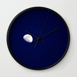 Blue Moon Blue Nights Wall Clock