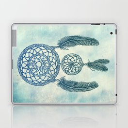Double Dream Catcher Laptop & iPad Skin