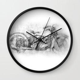 HARLEY KNUCKLEHEAD Wall Clock