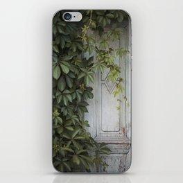 Old wooden door iPhone Skin