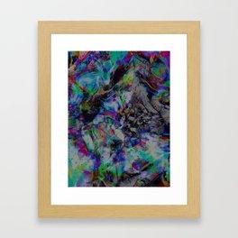 I know You're Somewhere Framed Art Print