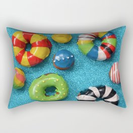 Carnival Donuts Rectangular Pillow