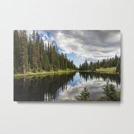 Rocky Mountains National Park Colorado USA - Metal Print