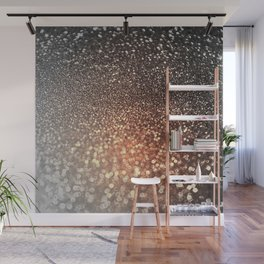 Tortilla brown Glitter effect - Sparkle and Glamour Wall Mural