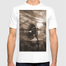 fantasy sepia Mens Fitted Tee White MEDIUM