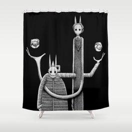 'Cavendish Cousins' Shower Curtain