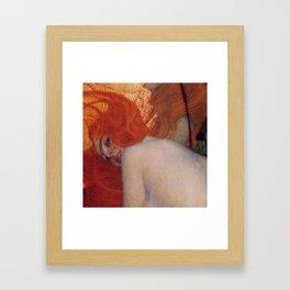 Gustav Klimt, Goldfish, (detail) 1901-1902 Framed Art Print