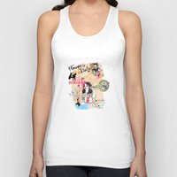 florence Tank Tops featuring Florence, Italy by Olive Primo Design + Illustration