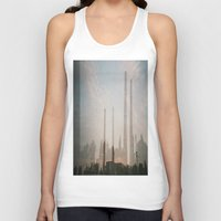 industrial Tank Tops featuring industrial by cristiana