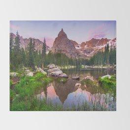 Lone Eagle Peak Throw Blanket