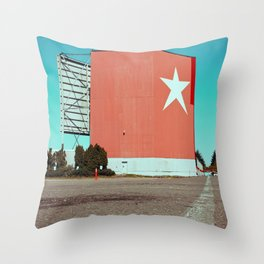 Drive-in relic Throw Pillow