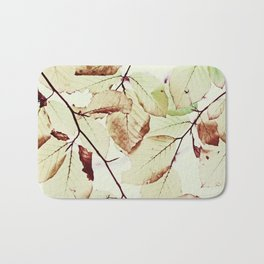 Leaves in October Bath Mat
