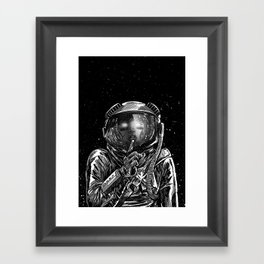 The Secrets of Space Framed Art Print