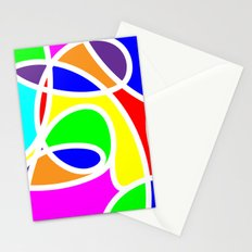 Loops Color Stationery Cards