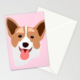 A Corgi named Jake Stationery Cards