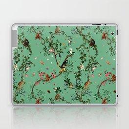 Monkey World Green Laptop & iPad Skin