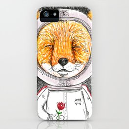 Le Petit Fox  iPhone Case