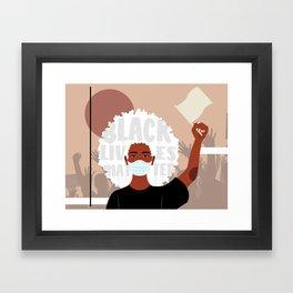 Protest No. 1 Framed Art Print