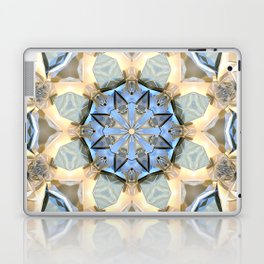 Blue And Gold Mandala Laptop & iPad Skin