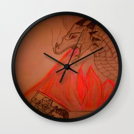 Knights last resort Wall Clock