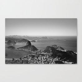 Black Rio Canvas Print