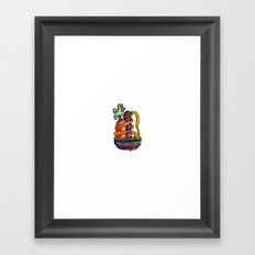 Pining Vine Framed Art Print