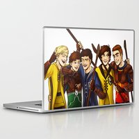 quidditch Laptop & iPad Skins featuring Quidditch by Plebnut