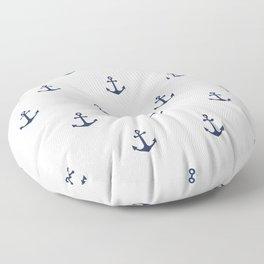 Anchor Pattern Floor Pillow