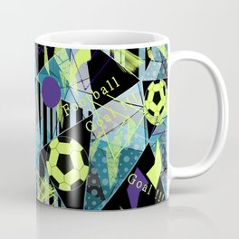 Football. 1 Sports print. Coffee Mug
