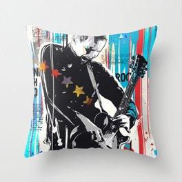 Sigur Ros Pop art Style Throw Pillow
