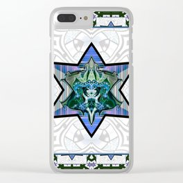 Starry Knight Clear iPhone Case