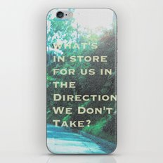 What Will Become of Us iPhone & iPod Skin