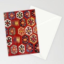 Mut  Antique Turkish Mersin Kilim Print Stationery Cards