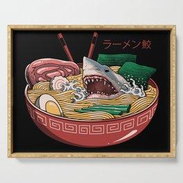 Ramen Shark Serving Tray