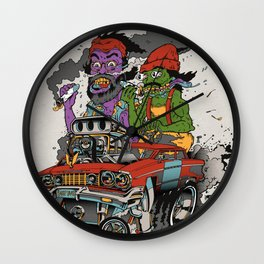 Cheech & Chong Love Machine Wall Clock