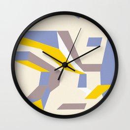Abstracts Wall Clock