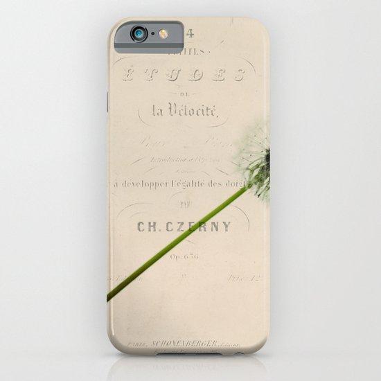 a dandelion iPhone & iPod Case