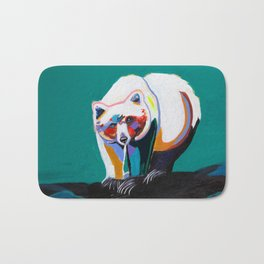 Spirit Bear Bath Mat