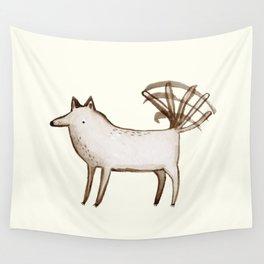 """""""I'm So Happy"""" - Dog Wall Tapestry"""