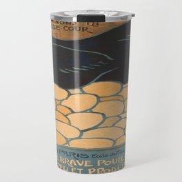 Vintage poster - I am a Fine War Hen Travel Mug