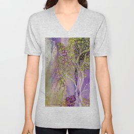 Mystic Purple Unisex V-Neck