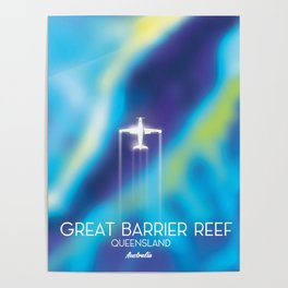 Great Barrier Reef , Queensland, Australia Poster