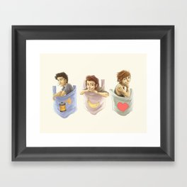 Pocket Zourry Framed Art Print