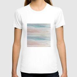 Sea breeze, acrylic on canvas T-shirt
