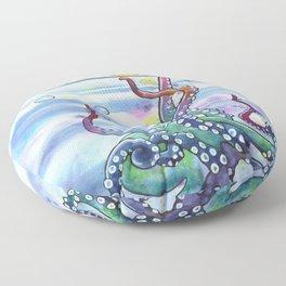 Bath Time Octopus Floor Pillow