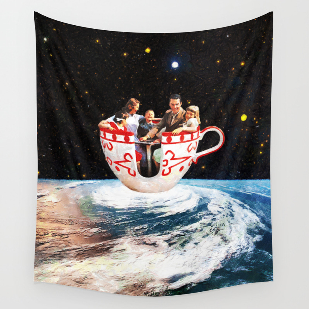 Storm In A Cup Wall Tapestry by Eugenialoli TPS2811735