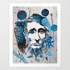 Thoreau Art Print