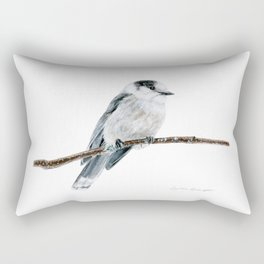 Gray Jay by Teresa Thompson Rectangular Pillow