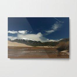 Mount Herard View Metal Print